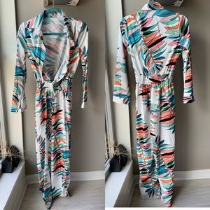 Pants - Colorful long sleeve romper size large